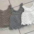 Crochet Cotton Baby Girl Vintage Dress, http://monpetitviolon.com/ design,