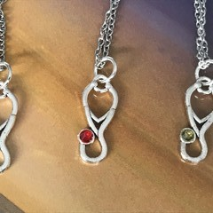 Doctors and Nurses - Stethoscope Necklace with Swarovski® Crystal