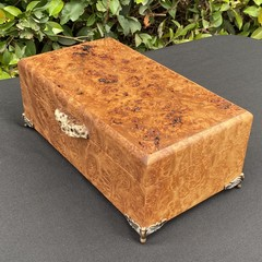 Jewellery | Keepsake | Wood Box In Bimble Box Burl And Tallowwood Burl