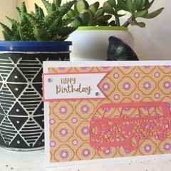Birthday Card - camper can