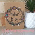 Hand Drawn Card - Mother to be