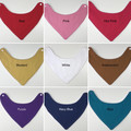 Plain coloured Bandana Bibs