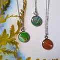 Dainty Silver Necklaces- variety of colours