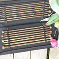"""Knitting needle set 30"""". * Pairs of Beautiful wood needles by Knit Pro"""