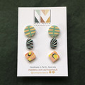 Assorted Stud Pack - 3 Pairs - 11