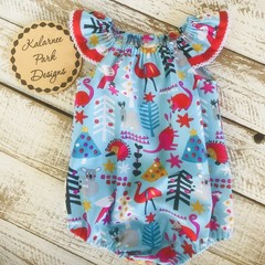 Christmas Playsuit size 1