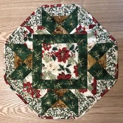 Octagonal Christmas Table Centre