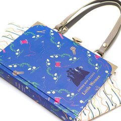 Little Women Novel Bag - Louisa May Alcott - Upcycled book- Bag made from a book