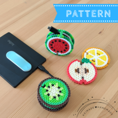 Fruit Earphone Holder / Cable Organiser (pattern e-book)