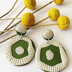 Crochet- Large Circle Dangles