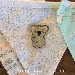 Baby Bunting, double sided pastel pennants, 10 flags, bedroom decoration