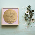 Custom Birth Memory Plaque - Bamboo & Birch coloured frame