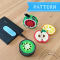 Fruit Earphone Holder / Cable Organiser (pattern e-book)