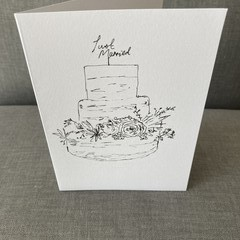 Ink Sketch Greeting Cards