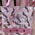 Black Cockatoo Tote Bag
