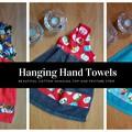 Hanging Hand Towels - Loop - Kitchen - Bathroom - Laundry - Caravan Cotton Loop