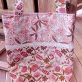 Pink Australian Native Flower Tote Bag