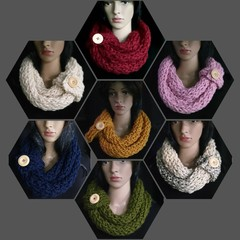 Infinity Snood / Scarf  - Supersoft - Women's Scarf - Snood - Cowl - Wool Blend