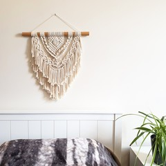 DREAMS - Macrame Wall Hanging - Small - Wall Art - Macrame Decor - Multi Layered
