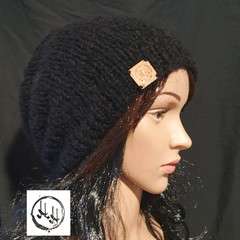 Oslo Hand Knit Slouch/Slouchy Beanie Hat - Unisex  Beanies, Slouch Beanies, Wool