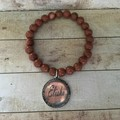 Goldstone Stone Bracelet with your name