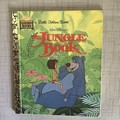 2021 Little Golden Book Upcycled Diary -   The Jungle Book