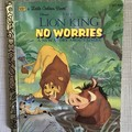 2021 Little Golden Book Upcycled Diary - The Lion King - No Worries