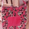 Red Flowering Gum Tote Bag