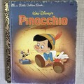 2021 Little Golden Book Upcycled Diary - Pinocchio