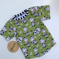 Green Cows   Tee Size 2