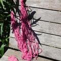 ~*~*~  Banana  Silk 100g Skein,  Pink  ~*~*~
