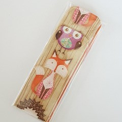 Woodland Animals Waterproof Icy Pole Holder