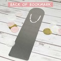 Personalised bookmark, bookmark for mum, Christmas gifts