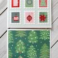 Christmas Mini Card Set 01