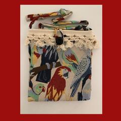Tropical Birds Cross-body Bag