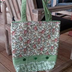 Green Koala Tote Bag