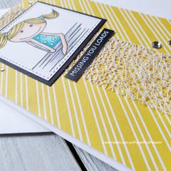 Missing You Handmade Card