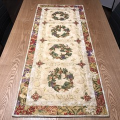 Australian Native Floral Christmas table runner