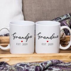 Grandparent mugs, Personalised Grandma, Grandma mugs, Grandparent mugs```
