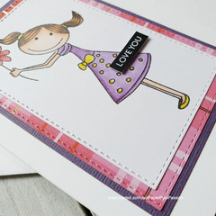 Love You Handmade Card