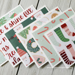 Christmas Mini Card Set 02