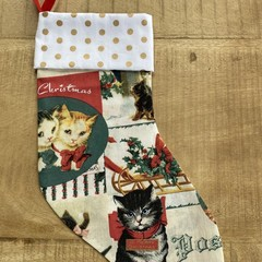 Kitty  Christmas Stocking