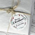 Personalised Christmas Gift Tags, personalised/custom Christmas tags