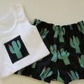 Baby Boys Cactus Britches Set Size 00 & 0