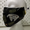 Unique Star Wars 'rebels' face mask. XXL size suitable for adult male or female.