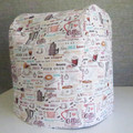 Deluxe Thermomix Cover - Graphic Kitchen