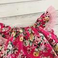 Floral Seaside Romper, Size 000, Baby Girl Romper, Baby Girls Playsuit