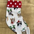Kitty  Christmas Stocking