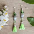 Spring Green Cindy Earrings