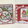 Christmas Gnome Pair of Cards